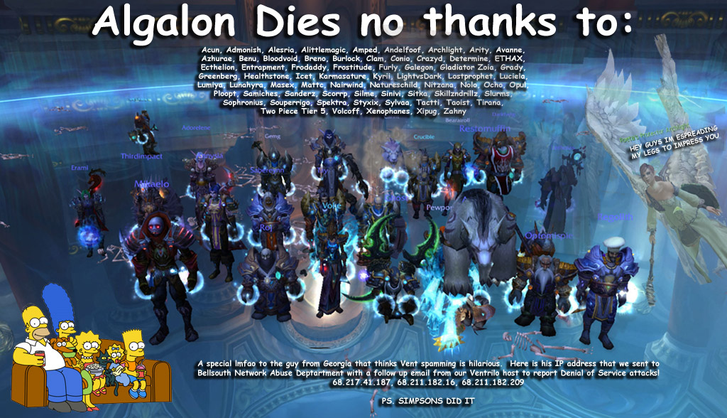 ALGALON FINALLY DEAD