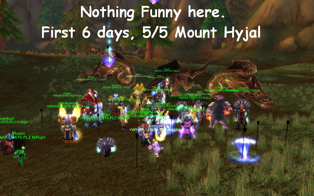 Archimonde down first 6 days in instance