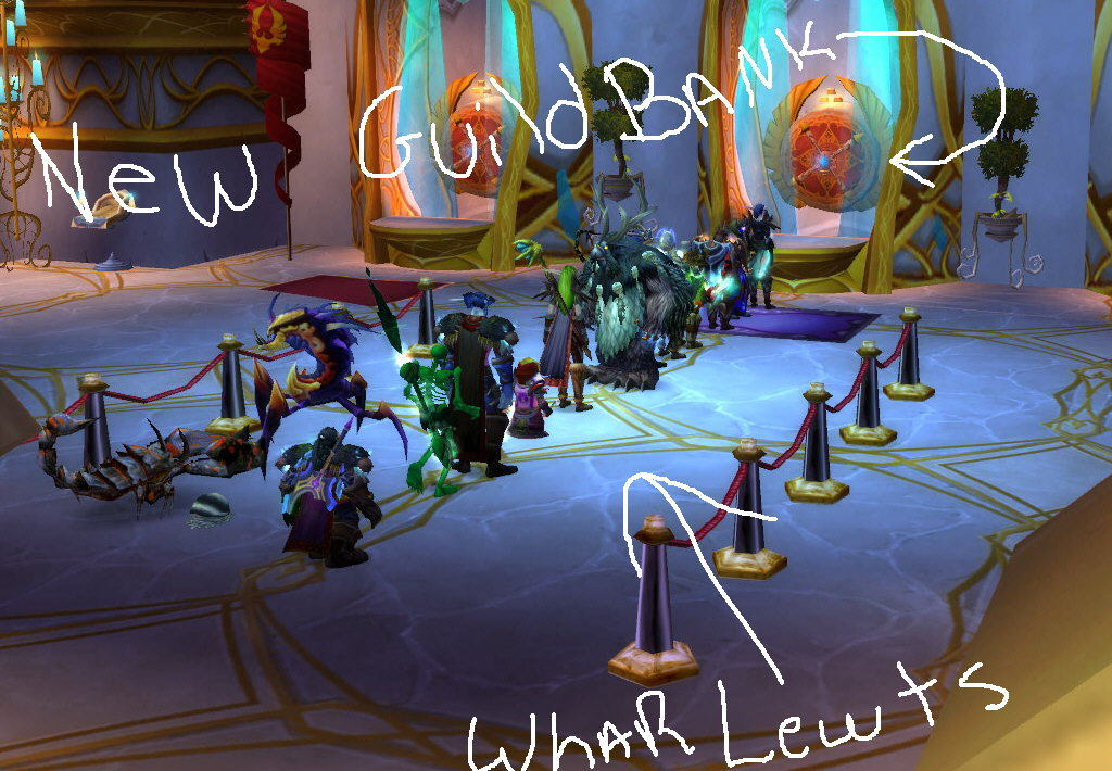 Guild Bank in Blood Elf town :O